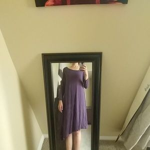 Chalet purple dress